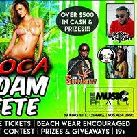 SOCA Foam Fete - Pre-Carnival Warm Up