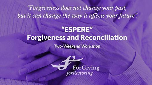 Forgiveness Workshop in Ottawa Valley March 29-31 & April 26-28