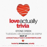 Love Actually Trivia