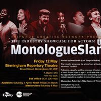 TriForce &amp Birmingham REP present MonologueSlam UK - the indust