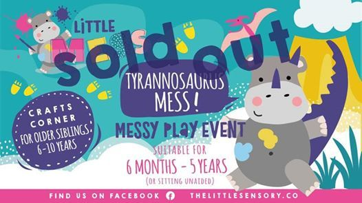 Sold Out-Messy Play-DerryLondonderry-Tyrannosaurus Mess