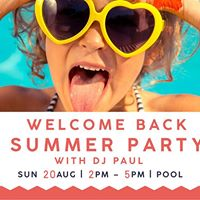 Welcome Back Summer Party - Spinning Sundays feat. DJ Paul