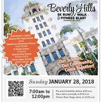 Beverly Hills 5k RunWalk &amp Fitness Blast Benefitting BHEF