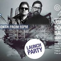 Audio Tonic By Night Launch Party w Doctor Dru &amp Bambook