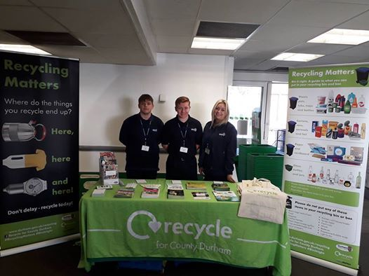 Waste Roadshow At Durham City Market Place