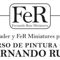 Masterclass de pintura con Fernando Ruz de Fer Miniatures.