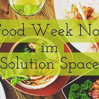 The Food Week N1 im Solution Space - Die bernahme