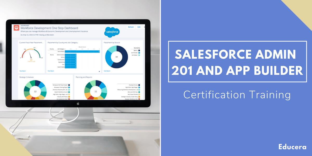 Salesforce Admin 201 and App Builder Certification Training in Atlanta GA