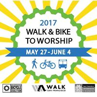 Walk and Bike to Worship