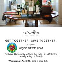 New Date for Fundraiser for Virginia Art With Heart