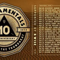Thundamentals in Alice Springs NT  10th Anniversary Tour