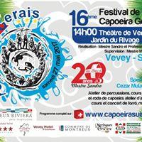 16me Festival Capoeira Gerais - Mestre Sandro