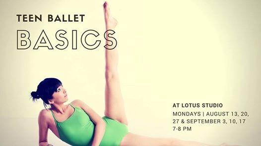 Teen Ballet Basics