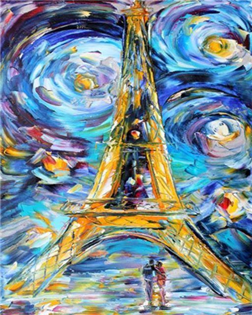 ArtMasters - PAINT PARTY - Romantic Paris