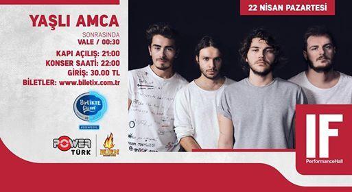 Yal Amca  IF Performance Hall Ankara