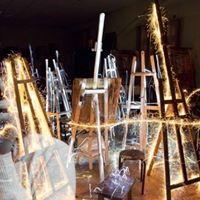 Residence light painting et vido