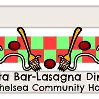 Pasta Bar-Lasagna Dinner and Bake Sale
