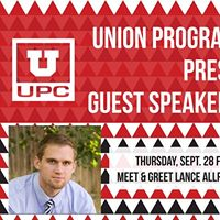 Union Programming Council Presents Lance Allred