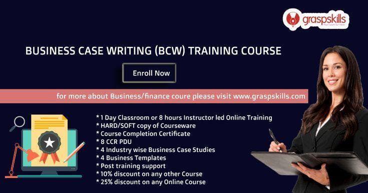 Business Case Writing (BCW) Training - Hyderabad