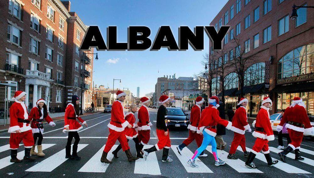 Official Albany SantaCon Crawl 2018