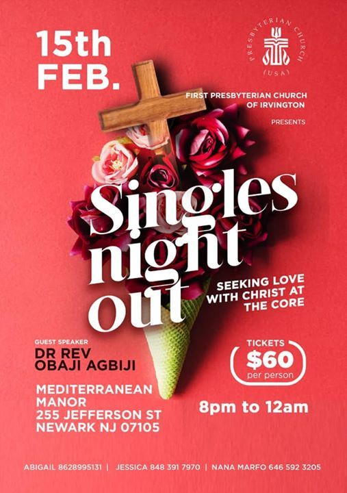 FPCI Presents Singles Night Out