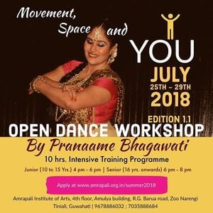 Open Dance Workshop on Movement Space &amp You
