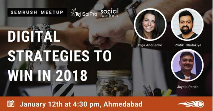 SEMrush meetup in Ahmedabad