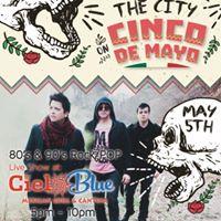 REZUR Rock el 5 de Mayo  Cielo Blue Mexican cantina