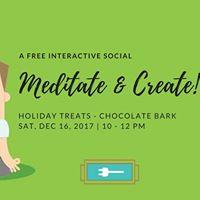 Meditate &amp Create  Holiday Treats