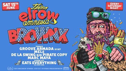 Elrow Ibiza - 15th June - Brownx