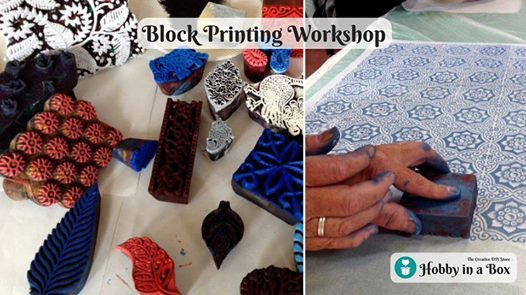 Bangalore - Block Printing Workshop - 24 February 2019