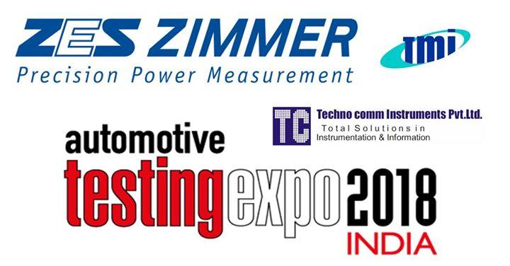 Automotive Testing Expo India 2018