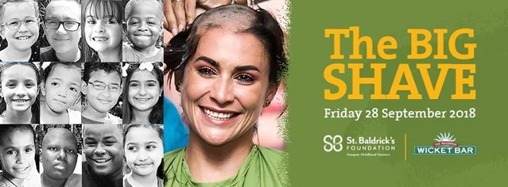 the big shave 2018 at cricket square george town