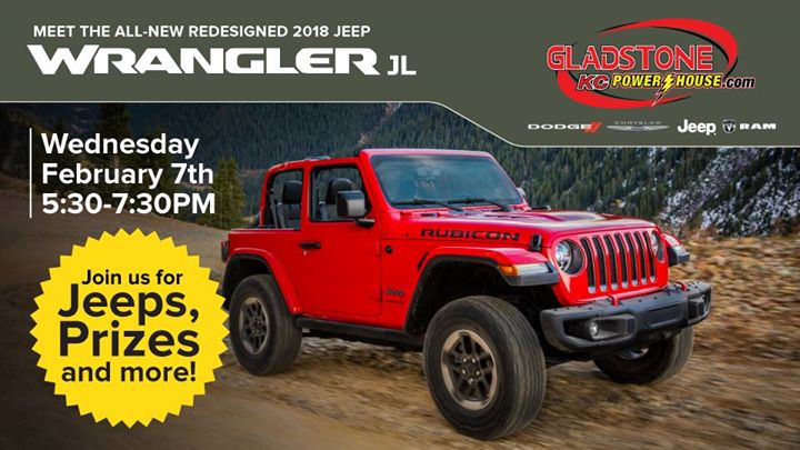 Jeep Wrangler JL Reveal Party