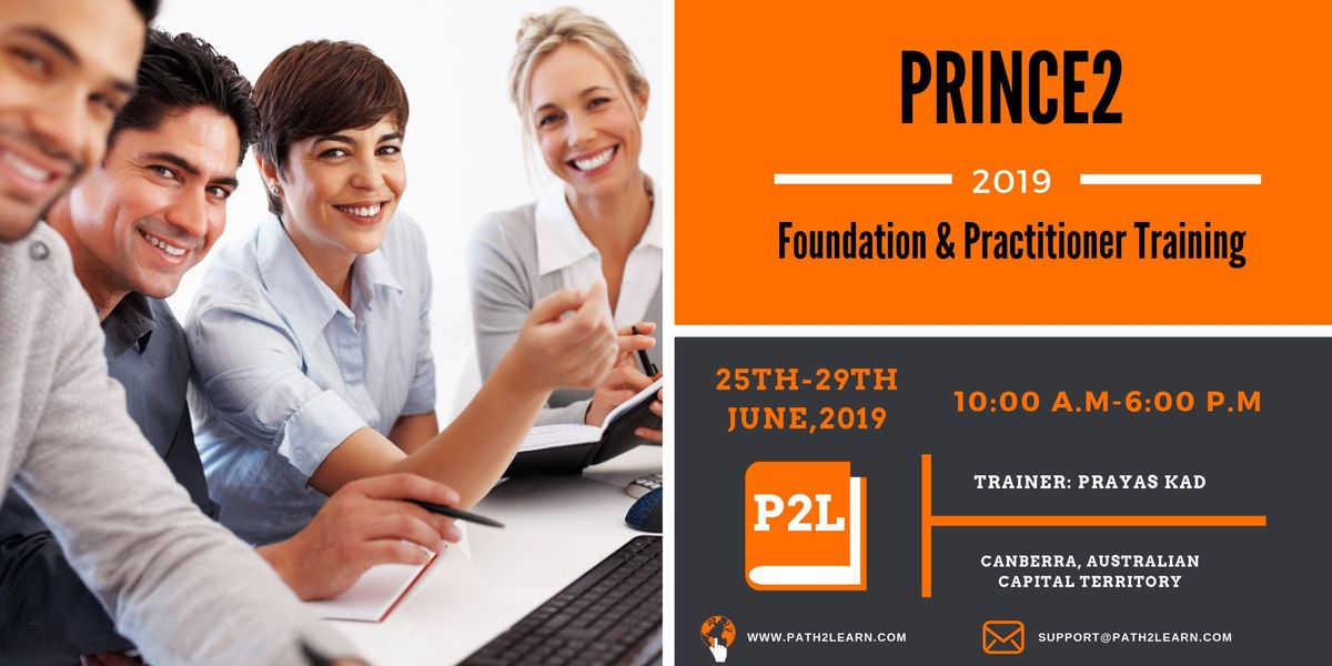 Path2Learn Prince2 Foundation & Practitioner Training  Canberra  June 19