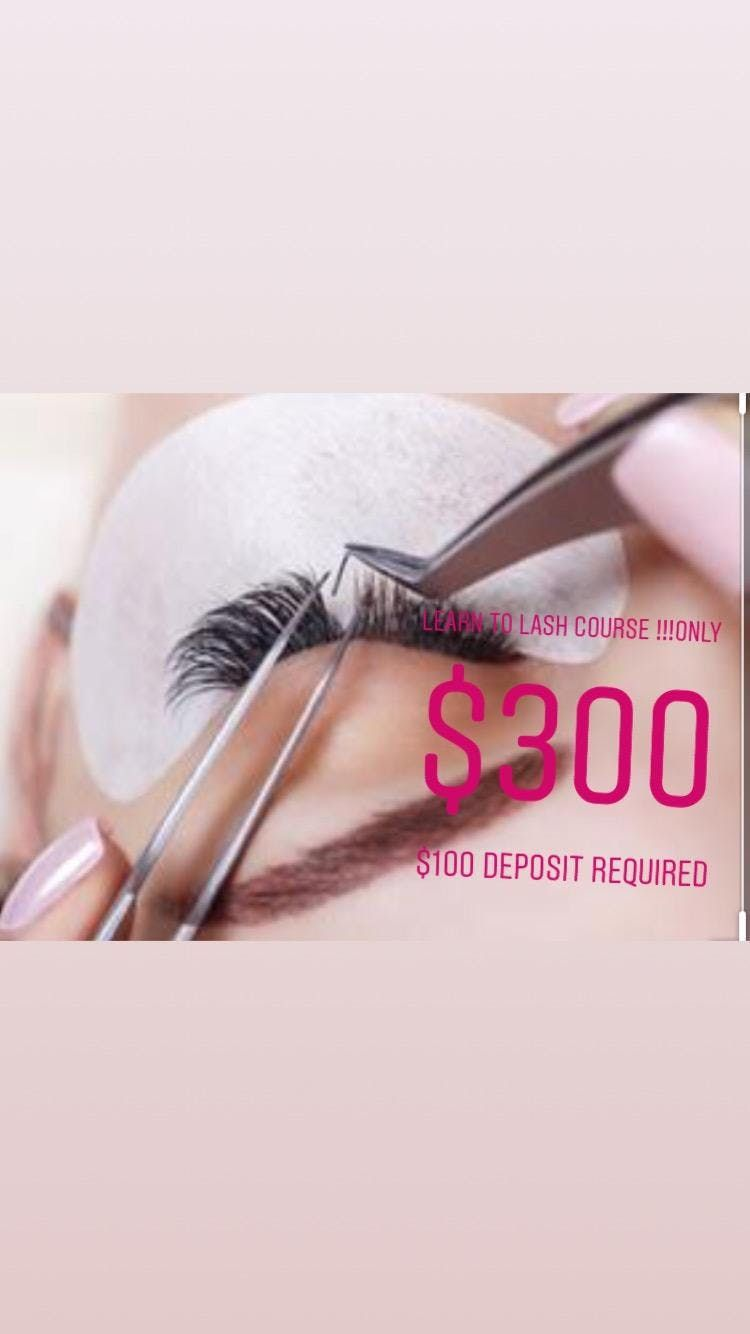Eyelash Extension 101 Training and Certification
