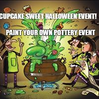Paint Your Own Pottery Halloween Sweet Event