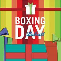Boxing Day avec Labatt
