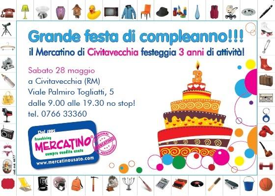 Awesome 3° Compleanno Mercatino Dellu0027Usato Franchising Civitavecchia