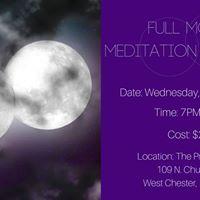 Fulll Moon Meditation &amp Release