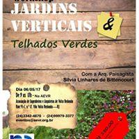 Workshop Jardins Verticais E Telhados Verdes