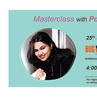 Masterclass with Pooja Dhingra