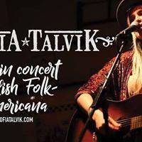 Sofia Talvik at White Rock Lake House Concerts