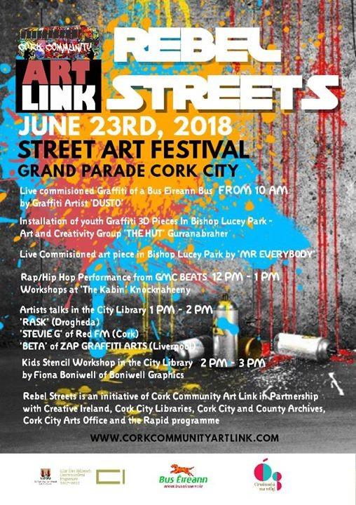 Rebel Streets Street Art Festival Cork 2018