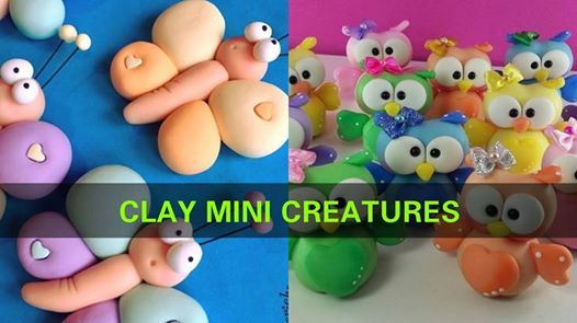 Clay Mini Creatures workshop by The Living Walls