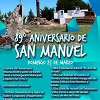 89 Aniversario de San Manuel