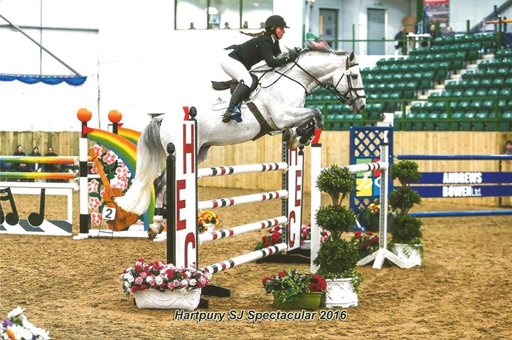 Amy Westcott-Allen jumping clinic open to all levels inc. beginners and pole work