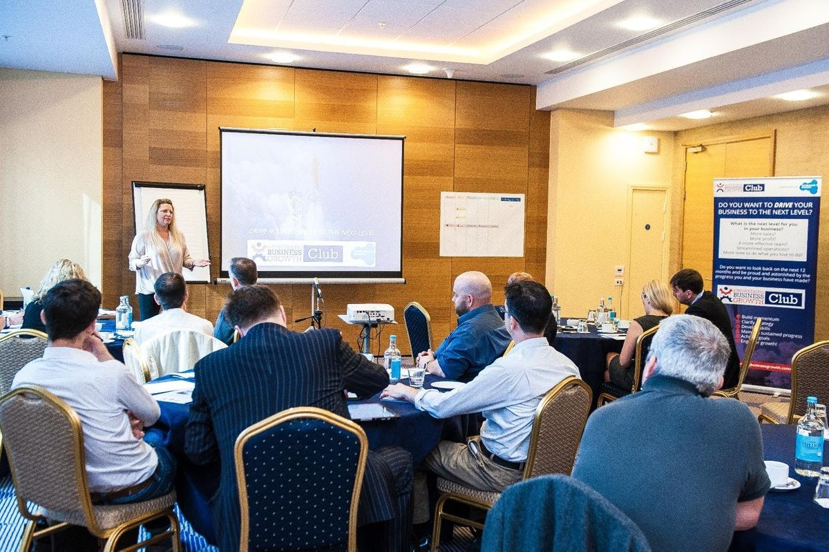 How to drive your business to the next LEVEL - Battersea - March 2019