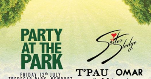 Party in the Park Newport  12 July 2019 Tredeger Park