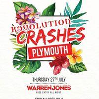 Revolution Crashes Plymouth